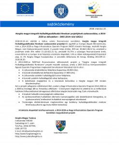 Microsoft Word - IHR proiekt szakaszosítása finanszírozási szerz